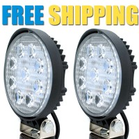 CREE USA AUXILIARY Offroad LED FOG LIGHT Round Style - 27w | Pack of 2