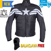 Biking Brotherhood Captain Motorcycle Riding Jacket in India