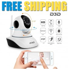 D3D D8810 CCTV wireless camera for security surveillance | Pack of 5
