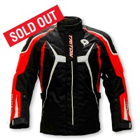 DSG Triton Riding Jacket: - RED - Size XL