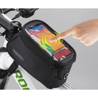 WATERPROOF MOBILE HOLDER WITH UTILITY POUCH - 5.5inch