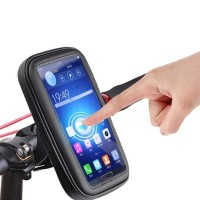 HANDLE MOUNTED MOBILE HOLDER (WATERPROOF) 5.7inch