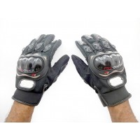 PROBIKER RIDING GLOVES Premium Quality - Black