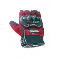 PROBIKER RIDING GLOVES Premium Quality - Red