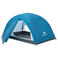 Quechua Arpenaz 2+ Person & Luggage Waterproof Insect Proof Tent for Camping Trekking Riding