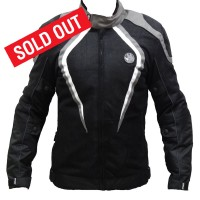 RYNOX TORNADO PRO RIDING JACKET - Black & Grey