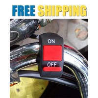 Fog Light Switch for Bike Handlebar | 1 piece