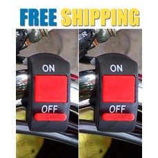 Fog Light Switch for Bike Handlebar | PACK OF 2