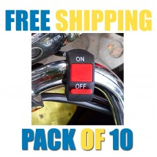 Fog Light Switch for Bike Handlebar | PACK OF 10