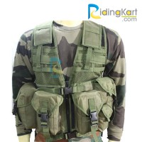 Tactical Vest / Jacket for Motorcycling, Trekking, Camping, Outdoor Activity