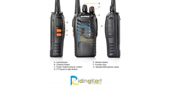 buy walkie talkie handset on rent per day 200 rs