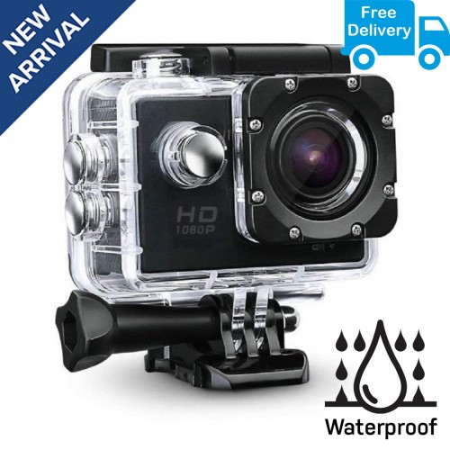 accc052a1 Buy Best Budget Full HD Waterproof Sports Action Camera India ...